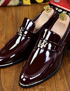 Bărbați Pantofi Piele Originală Primăvară Vară Toamnă Iarnă Confortabili Noutăți Pantofi formale Mocasini & Balerini Franjuri Pentru