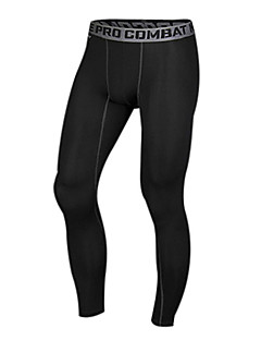 Men's Running Tights Gym Leggings Compression Lightweight Materials Tights Bottoms Exercise & Fitness Racing Leisure Sports Running