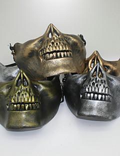 billige Halloweenkostymer-Soldat / Kriger Skjelett / Kranium Film & Tv Kostymer Halloween Utstyr Herre Dame Jul Halloween Karneval Nytt År Festival / høytid