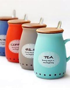 hesapli Çay Fincanları-drinkware Seramik Yenilikçi Bardaklar / Çay Fincanları Sevimli 1 pcs