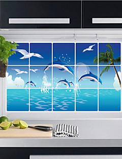 Χαμηλού Κόστους Landscape Wall Stickers-Άλλο Υλικό Πολυλειτουργία Φιλικό προς το περιβάλλον Για το Σπίτι Για το Γραφείο Καθημερινή Χρήση Πολυλειτουργία Πρωτότυπες