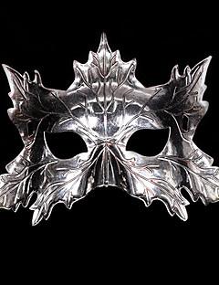 billige Halloweenkostymer-Karneval Maske Herre Dame Jul Halloween Karneval Festival / høytid Drakter Sølv / Rød / Rose