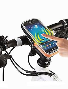 ROSWHEEL Brašna na řídítka Mobilní telefon Bag 4.8 palec Voděodolný Voděodolný zip Nositelný Odolný proti vlhkosti Odolné vůči šokům