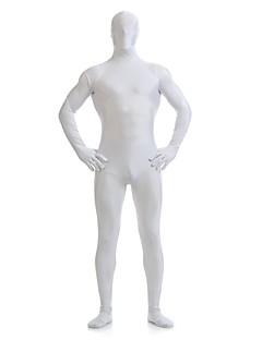 חליפות Zenta Morphsuit Ninja Zentai תחפושות קוספליי לבן אחיד /סרבל תינוקותבגד גוף Zentai ספנדקס לייקרה יוניסקסהאלווין (ליל כל הקדושים) חג