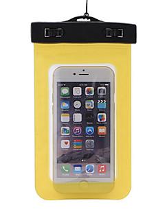 Száraz dobozok Száraz tasakok Mobiltelefon Vízálló Búvárkodás és felszíni búvárkodás PVC Fekete Sárga Zöld Kék Bíbor