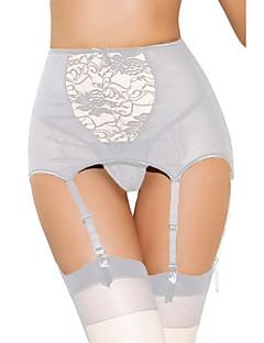 Women's Garters & Suspenders Nightwear,Sexy Solid Polyester Spandex