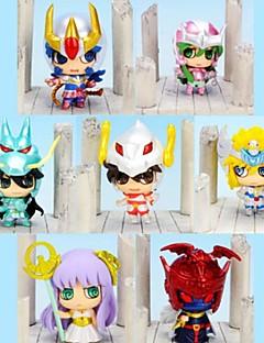 Figuras de Ação Anime Inspirado por Cavaleiros do Zodíaco Fantasias 6 CM modelo Brinquedos Boneca de Brinquedo