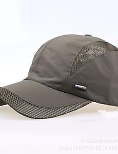 Sapka Men's Halászat / Baseball / Szabadidős sport / Golf Piros / Sötétszürke / Világosszürke / Fekete / Kék Ruhaanyag / NejlonTavasz /