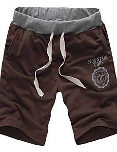 Herre Tynn Shorts Bukser,Tynn Shorts Ensfarget
