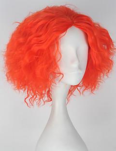 Perruques de Cosplay Conte de Fée Cosplay de Film Orange Couleur Pleine Perruque Halloween Noël Nouvel an Masculin
