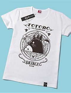"""Inspirert av Min nabo Totoro Kat Anime  """"Cosplay-kostymer"""" Cosplay T-skjorte Trykt mønster Kortermet T-Trøye Til Unisex"""