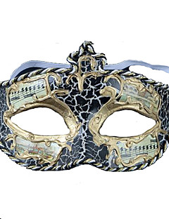 billige Masker-Cosplay Maske Dame Halloween Festival / høytid Halloween-kostymer Drakter Trykt mønster