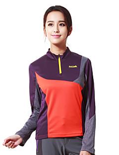 Damen T-Shirt für Wanderer Atmungsaktiv Außen Oberteile für Camping & Wandern Jagd Angeln Klettern Übung & Fitness Golfspiel Rennsport