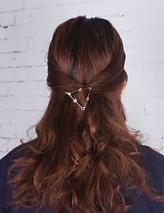 Women's Alloy Hair Clip,Metallic Simple Spring/Fall All Seasons