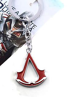 Smykker Inspirert av Assassin's Creed Cosplay Anime / Videospil Cosplay Tilbehør Halskjede Svart / Rød / Blå Legering Mann / Kvinnelig