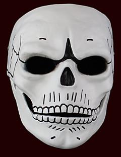 Outro Fantasma Monstros Máscara Unisexo Dia Das Bruxas Festival/Celebração Trajes da Noite das Bruxas Branco e Preto Estampado