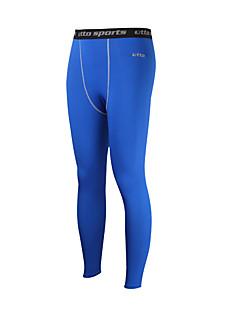 billiga Träning-, jogging- och yogakläder-Herr Tights för jogging / Gymleggings - Blå sporter Cykling Tights / Leggings Sportkläder Kompression