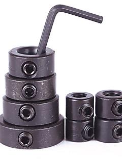 8pcs ξυλουργική κολάρα stop βάθους τρυπάνι δαχτυλίδι po sitioner εντοπισμού φορητών ζεστό θέσης εντοπισμού τρυπάνι
