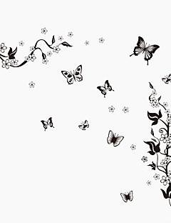 olcso Csendélet fali matricák-Állatok Csendélet Divat Virágok Botanikus Régies (Vintage) Szabadidő Falimatrica Repülőgép matricák Dekoratív falmatricák, PVC