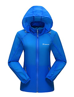 Unisex Hiking Jacket Outdoor Winter Waterproof Quick Dry Windproof Anti-Eradiation Breathable Top Camping / Hiking Hunting Fishing