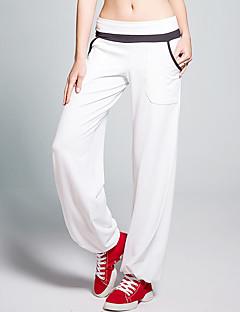 Yogabukser Bukser Pustende Anti- Statisk Svettereduserende Naturlig Stretch Drakter Hvit Rød Svart DameYoga & Danse Sko Taekwondo Trening