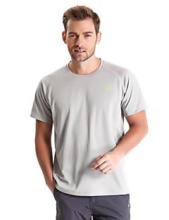 tanie Koszulki turystyczne-Męskie Tričko na turistiku Na wolnym powietrzu Quick Dry Zdatny do noszenia Oddychający T-shirt Topy Camping & Turystyka Wędkarstwo