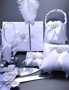 baratos Loja de Casamentos-Tema Praia Tema Jardim Tema Asiático Tema Flores Tema Borboleta Férias Tema Clássico Conjunto de Cerimônia de Casamento Presentes Outros