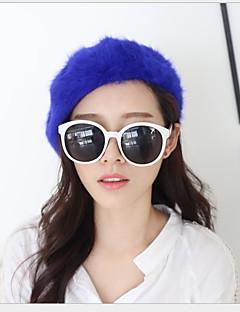お買い得  ファッションアクセサリー-女性用 キュート ソリッド ベレー帽