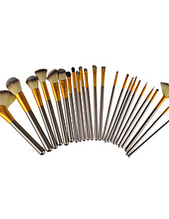cheap Makeup Brushes-24 Makeup Brush Set Others Portable Metal Eye Face