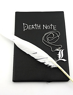 Jewelry Inspired by Death Note Cosplay Anime Cosplay Accessories Necklace Black Alloy Male / Female
