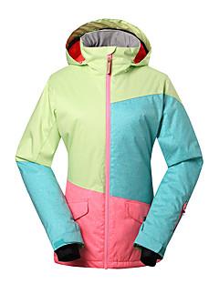 GSOU SNOW Jaqueta de Esqui Mulheres Esqui Esportes de Inverno Prova-de-Água Térmico/Quente A Prova de Vento Resistente Raios Ultravioleta