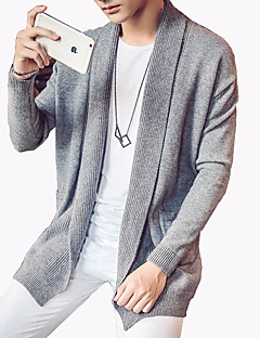Men's Fashion Solid Casual Outdoor Knitting Cardigan;Causal/Solid