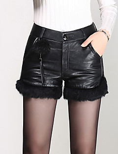 Women's Solid Black Shorts Pants,Sexy  Simple  Cute