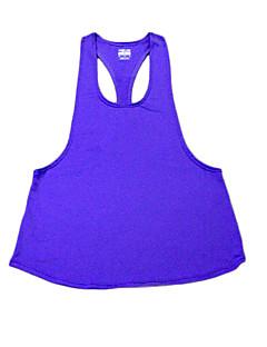billige Løbetøj-Dame Racer Bagside / Strappy Træningsundertrøje - Blå, Lys pink, Mørk Lilla Sport Tank Tops / Toppe Træning & Fitness, Løb Sportstøj