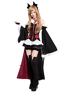 cheap -Zombie Cosplay Costume Party Costume Women's Christmas Halloween Carnival Day of the Dead Festival / Holiday Halloween Costumes Black