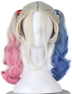 Perruques de Cosplay Superhéros Cosplay de Film Rose Perruque Halloween Noël Nouvel an Féminin