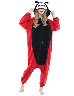 billige Kigurumi-Kigurumi-pysjamas Marihøne Onesie-pysjamas Kostume Polar Fleece Svart Cosplay Til Pysjamas med dyremotiv Tegnefilm Halloween Festival /