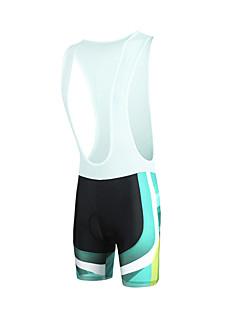 ILPALADINO מכנס קצר ביב לרכיבה לגברים אופניים מכנסיים קצרים עם כתפיותנושם ייבוש מהיר עמיד עיצוב אנטומי עמיד אולטרה סגול מבודד חדירות
