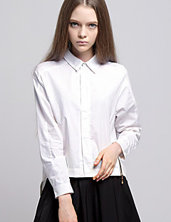 ARNE® Női Állógallér Hosszú ujjú Shirt és blúz Ivory-A001