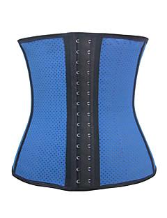 baratos Ponta de Estoque-Mulheres Colchete Sem Busto Sólido Poliéster Elastano Preto Bege Azul