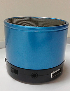 billige Bluetooth høytalere-S10 Innendørs / Bluetooth / Bærbar Subwoofer Lilla / Rød / Blå
