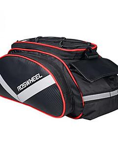 baratos Mochilas de Ciclismo-Rosewheel Bolsa de Bicicleta 13L Bolsa de Ombro Mala para Bagageiro de Bicicleta/Alforje para Bicicleta Á Prova de Humidade Vestível