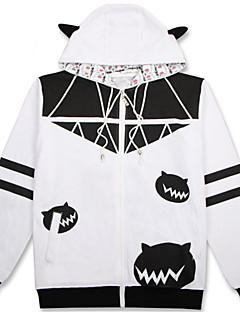 Cosplay Suits Inspirert av Kantai Collection Shimakaze Anime Cosplay Tilbehør قميص Svart Bomull Unisex