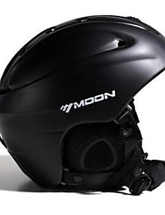 お買い得  スキー&スノーボード-MOON スキーヘルメット 男性用 女性用 スキー 取り外し可 調整可 軽量 PC