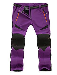 tanie Turystyczne spodnie i szorty-Damskie Turistické kalhoty Na wolnym powietrzu Wodoodporny Keep Warm Wiatroodporna Rain-Proof Oddychający Zima Softshell Rajstopy