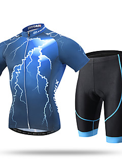 cheap Cycling Clothing-XINTOWN Men's Short Sleeves Cycling Jersey with Shorts Bike Shorts Padded Shorts/Chamois Jersey Pants / Trousers Clothing Suits, Quick