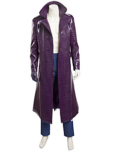 Cosplay Costumes /  Squad Joker Cosplay Costume Trench Coat Jacket Halloween Costumes Custom Made
