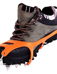preiswerte Ski & Snowboards-Steigeisen Kletterschuhe Schnee Stollen 18 Zähne Anti-Rutsch- Edelstahl Gummi für Wandern Schnee Sport