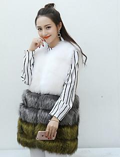 billige Pels-Formell Stil Helfarge Chic & Moderne Dame
