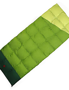 Slaapzak Rechthoekig Eenden Dons 10°C Goed-Geventileerde waterdicht draagbaar Winddicht Regenbestendig Vouwbaar Forseglede poser 230X100